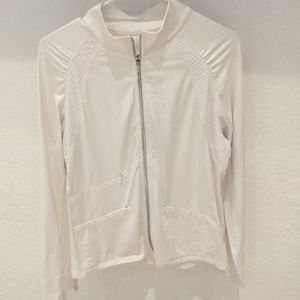 CHRISSIE BY TAIL  Long Sleeve Tennis Top White
